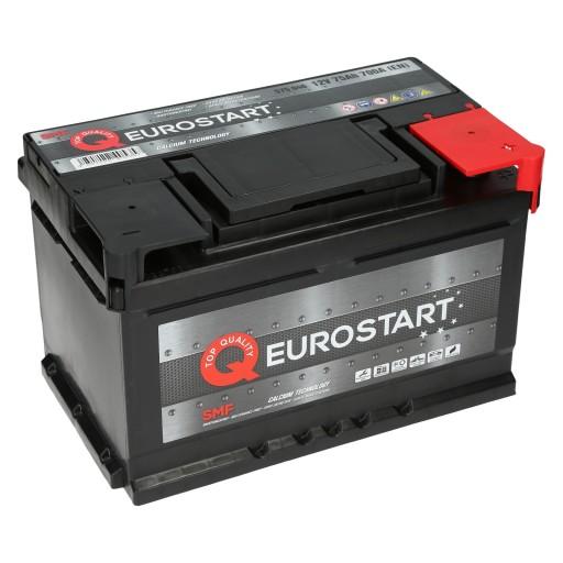 Akumulator Eurostart Smf 12v 75ah 700a En P Zielona Gora Allegro Pl