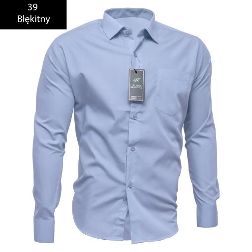 Koszula Męska 4243 Długi Rękaw Mix Kolor Bawełna 6428961477  ParlH