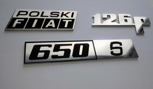PAKETAS EMBLEMA ZENKLIUKAS Fiata 126p ,600, 650