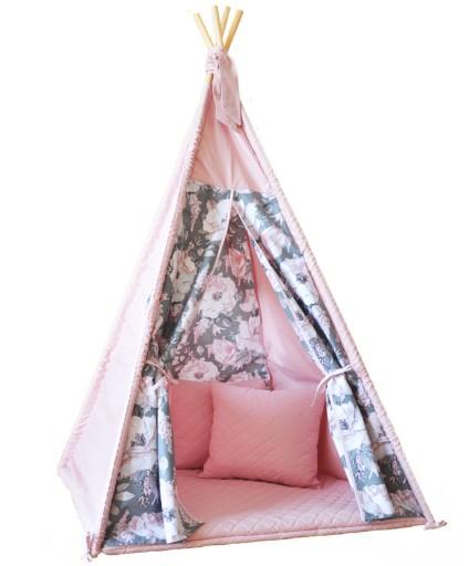 Namiot Dla Dzieci Tipi Teepee Wigwam 100x100 T1 9045496951 Allegro Pl