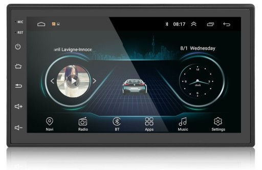 Radio 2din Android 8 1 Kamera Nawigacja Polska Lodzkie Allegro Pl