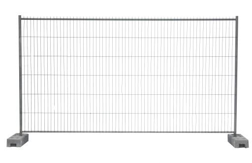 OGRODZENIE BUDOWLANE PANEL 350x200cm STOPA OBEJMA 7972134492 - Allegro.pl