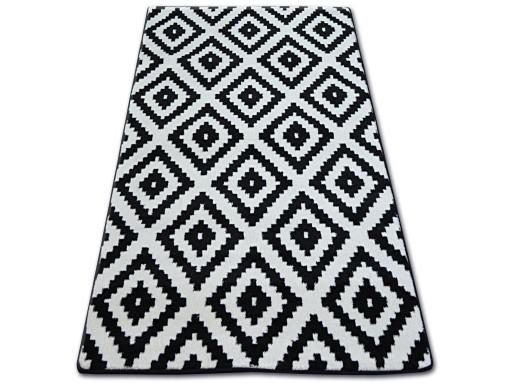 Dywany łuszczów Sketch 120x170 Ruta Czarny Gr1952
