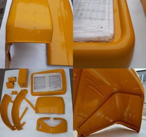 Komplet Maska Blotniki Blachy Lampy Ursus C360 Zabkowice Slaskie Allegro Pl