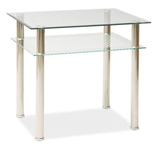 Stół Szklany Stoły Pixel 60x80 Kuchenny Do Jadalni