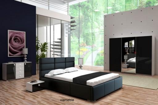Nowoczesne Meble Do Sypialni Szafa łóżko Komoda 6864061552 Allegropl