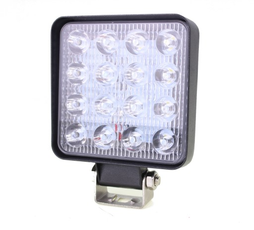 ZIBINTAS (LEMPOS-FAROS) LED VEIKIANTIS 16 LED HALOGENAS 48W 2010M-30V CE R10