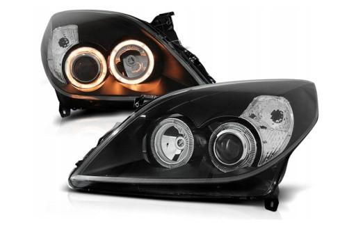 Lampy Reflektory OPEL VECTRA C SIGNUM 05-08 RINGI