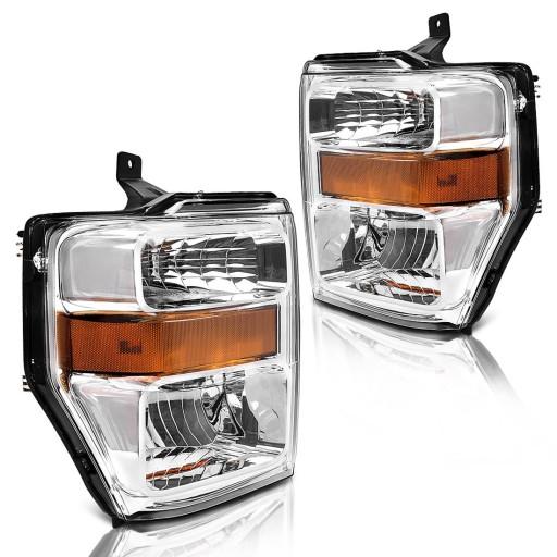 Ford F250 F350 F450 08 10 Lampa Lampy Przednie Wlodawa Allegro Pl