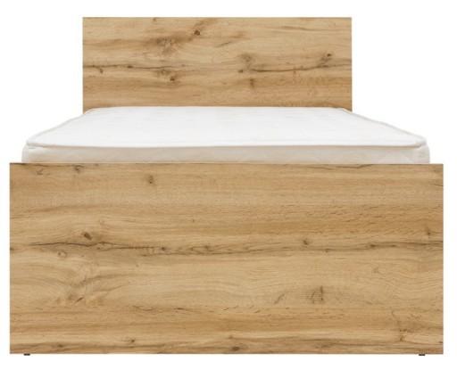łóżko Młodzieżowe Zele 90x200 Black Red White