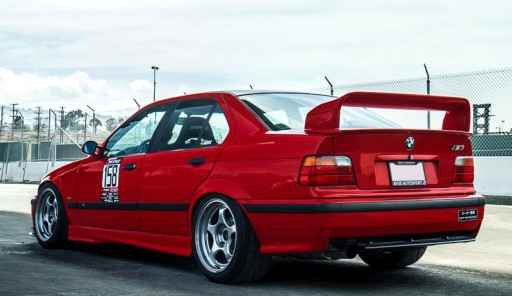 SPOILERIS GT CLASS 2 BMW E36 SEDANAS, COUPE