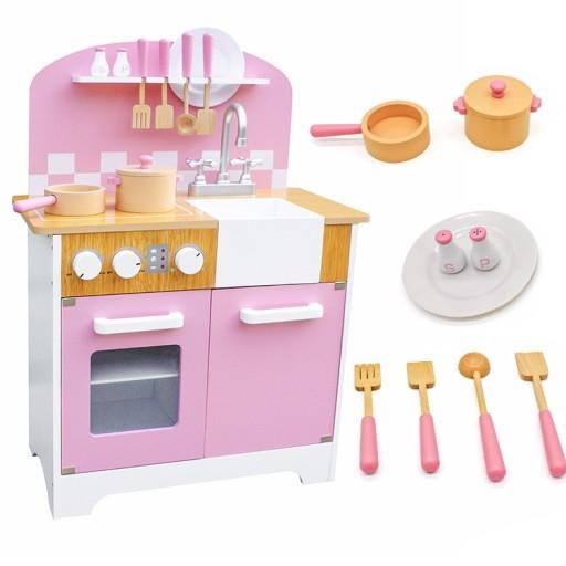 Uwaga Duza Kuchnia Drewniana Dla Dzieci Nowosc Hit 7704466533 Allegro Pl