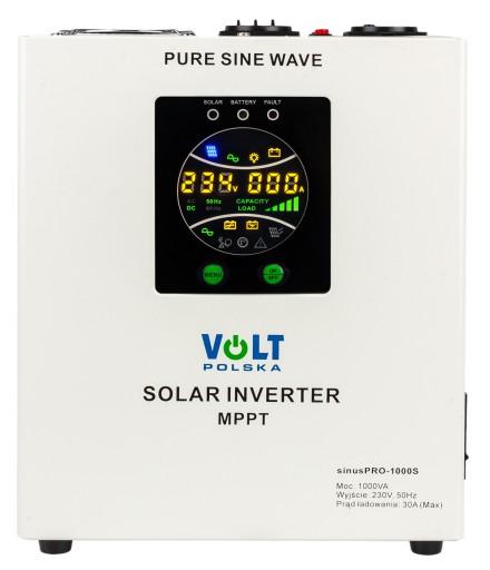 INWERTER SOLARNY PRZETWORNICA SINUS 1000W 12V 230V