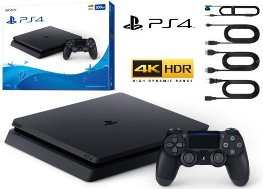 Konsola Sony Playstation 4 Slim Matowa Komplet Ps4 7884236407 Sklep Internetowy Agd Rtv Telefony Laptopy Allegro Pl