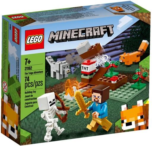 Lego Minecraft Przygoda W Tajdze 21162 8838106215 Allegro Pl