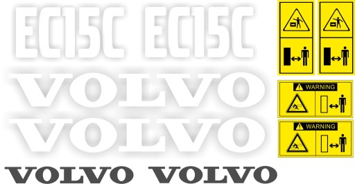 LIPDUKAI VOLVO EC15C EC 15 C MINIKOPARKA