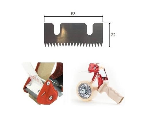 WOLDAR nóż, ostrze zębate 53 mm. do dyspensera 3M