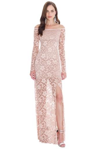 Sukienka koronkowa na wesele studniówkę A191 36
