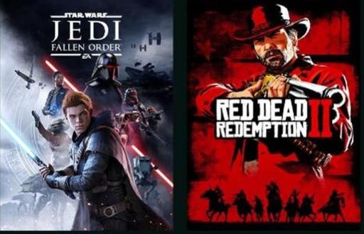 RED DEAD 2+WIEDŹMIN 3+WOLCEN+STAR WARS+50 GIER PC