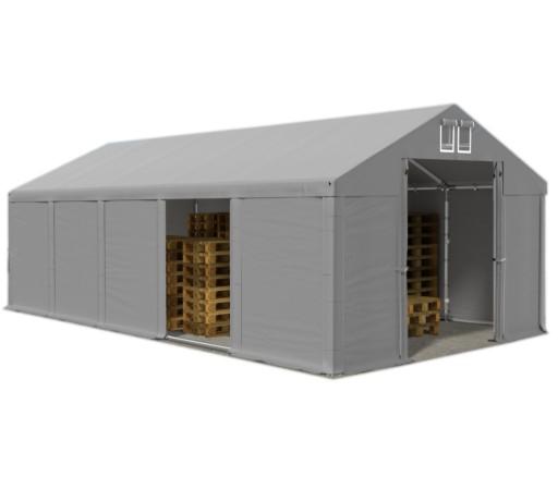 Namiot WINTER 8x10m magazynowy garaż zimowy HALA