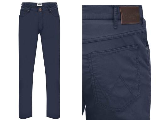WRANGLER Spodnie COOL ARIZONA WR051 navy W32 L34