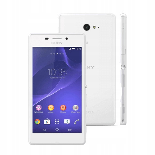 Smartfon Sony Xperia M2 Aqua D2403 Bialy Stan Bdb 9342042231 Sklep Internetowy Agd Rtv Telefony Laptopy Allegro Pl