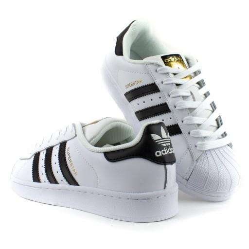 niska cena sklep dyskontowy wylot online Adidas Superstar C77124 BIAŁE 40
