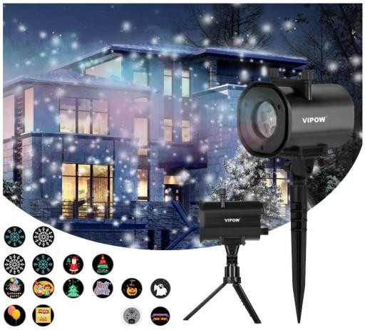 Super Projektor Laserowy 3d Rzutnik Ip44 4w1 4xled 7670921680 Allegro Pl