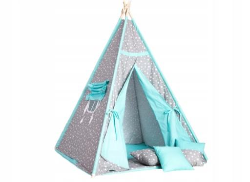 Namiot Dla Dzieci Tipi Wigwam 3 Poduszki Gratis 7314218116 Allegro Pl