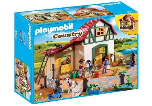 Playmobil 6927 Stajnia kucyków