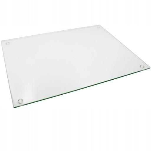 Szklana podstawka pod znicz 20/30 szkło hartowane