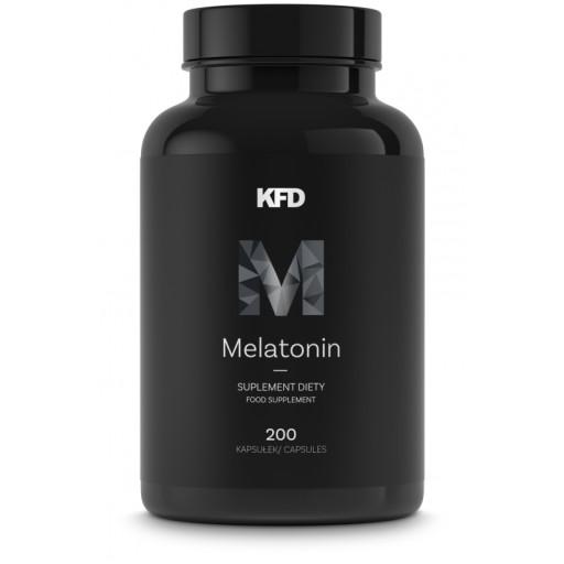 KFD MELATONIN - 200 Kapsułek - MELATONINA