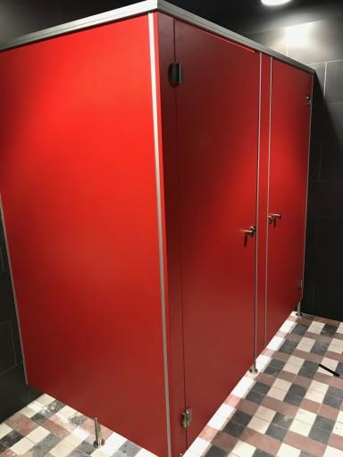 Kabina WC, kabina sanitarne, kabina HPL ,WLM