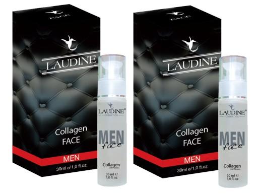 Kolagen Naturalny Laudine Face MAN 60 ml (2x30ml)