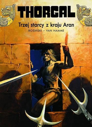 Thorgal TRZEJ STARCY Z KRAJU ARAN Tom 3 NOWY TW