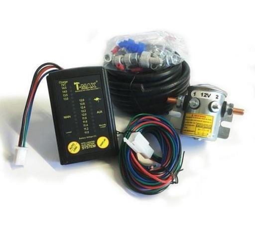 Izolator akumulatorów T-MAX Dual Battery System