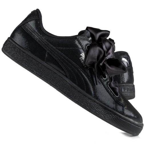 Buty,sneakersy damskie Puma Basket Heart 364108 01