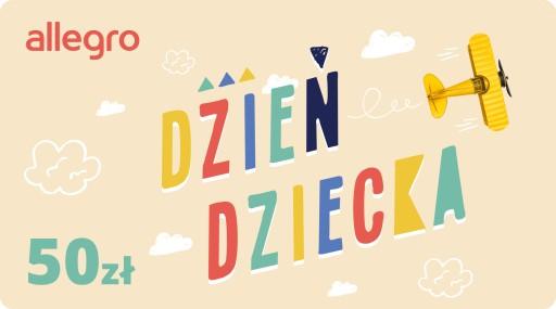 Karta Podarunkowa Dzień Dziecka - 50 zł