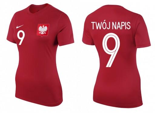 NIKE Polska koszulka damska haft Nadruk r. XL