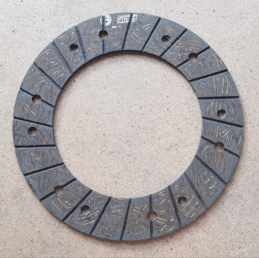 FACING PROTECTION CLUTCH 200x130x3,4 wiercona