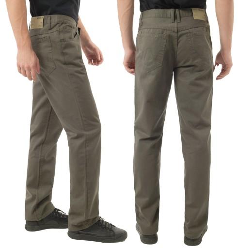 Spodnie Męskie Bawełniane BRIDLE N201 84 cm ol-jas 8824643916 Odzież Męska Spodnie ZM WZOBZM-9