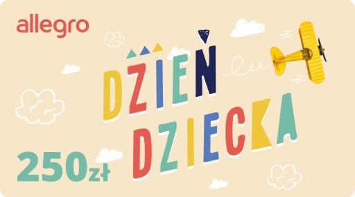 Karta Podarunkowa Dzień Dziecka - 250 zł