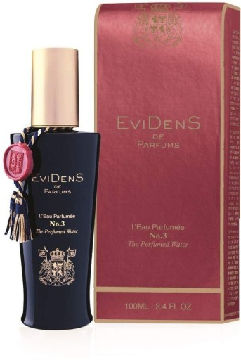 evidens de parfums l'eau parfumee no. 3