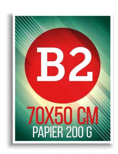 Plakat B2 70x50cm wydruk Fotoplakat ze zdjęcia