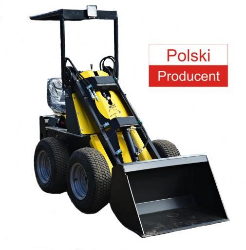 Nowa MINIŁADOWARKA N520 mini ładowarka TUR Poland
