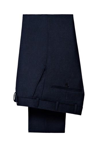 Spodnie Męsk Granat Flanela Lancerto Diego 176/102 9579561505 Odzież Męska Spodnie VD UZMVVD-9