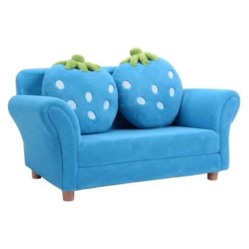 Mini Sofa Kanapa Fotelik Dla Dzieci Truskawka