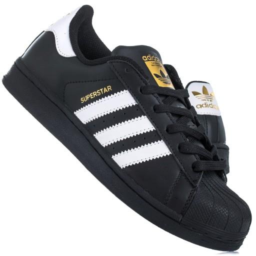 Oryginalne ADIDAS SUPERSTAR 39 13 buty czarne Kraków