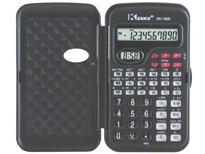 Kalkulator naukowy szkolny inżynierski Z KLAPKĄ