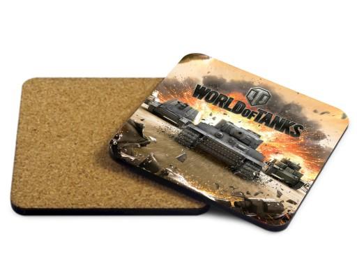 Podkładka pod kubek World of Tanks GRACZA WOT